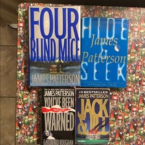 James Patterson book bundle of 4